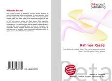 Borítókép a  Rahman Rezaei - hoz
