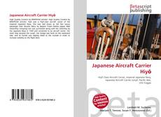 Bookcover of Japanese Aircraft Carrier Hiyō