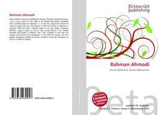 Borítókép a  Rahman Ahmadi - hoz