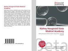 Nizhny Novgorod State Medical Academy kitap kapağı