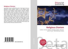 Bookcover of Religious Zionism