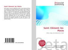 Couverture de Saint- Clément- les- Places