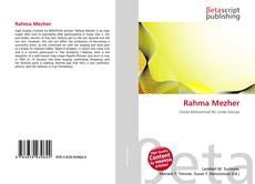 Couverture de Rahma Mezher