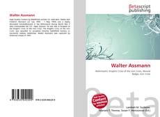 Walter Assmann的封面