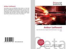 Bookcover of Ardour (software)