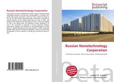 Bookcover of Russian Nanotechnology Corporation