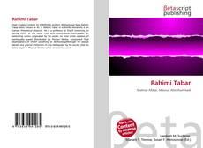Обложка Rahimi Tabar