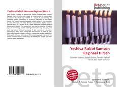 Yeshiva Rabbi Samson Raphael Hirsch kitap kapağı