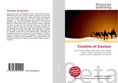 Bookcover of Timeline of Zionism
