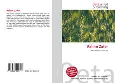 Bookcover of Rahim Zafer