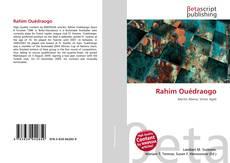 Bookcover of Rahim Ouédraogo