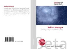 Bookcover of Rahim Mehryar
