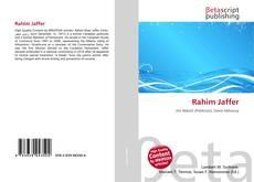 Bookcover of Rahim Jaffer