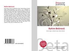 Bookcover of Rahim Beširović