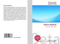 Bookcover of Rahim Bakhsh