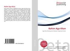 Buchcover von Rahim Aga Khan