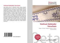Buchcover von Yeshivat HaHesder Yerucham