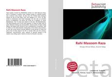 Bookcover of Rahi Masoom Raza