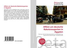 Bookcover of Affäre um deutsche Raketenexperten in Ägypten