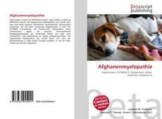 Buchcover von Afghanenmyelopathie