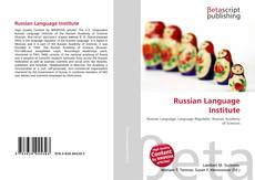 Copertina di Russian Language Institute
