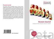 Capa do livro de Russian Journal