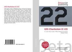 Capa do livro de USS Charleston (C-22)
