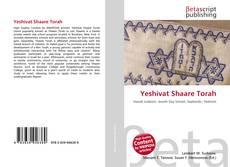 Обложка Yeshivat Shaare Torah
