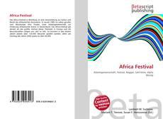Couverture de Africa Festival