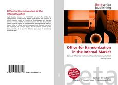 Capa do livro de Office for Harmonization in the Internal Market