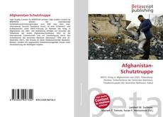 Capa do livro de Afghanistan-Schutztruppe