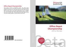 Office Depot Championship kitap kapağı