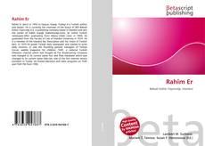 Buchcover von Rahîm Er