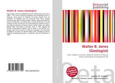 Walter B. Jones (Geologist) kitap kapağı