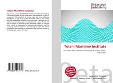 Bookcover of Tolani Maritime Institute