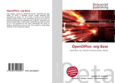 OpenOffice. org Base的封面