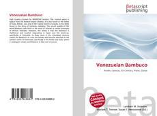 Bookcover of Venezuelan Bambuco