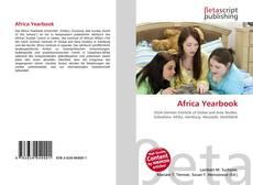 Couverture de Africa Yearbook