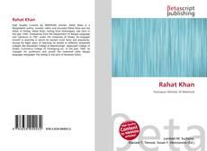 Buchcover von Rahat Khan
