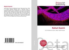 Bookcover of Rahat Kazmi
