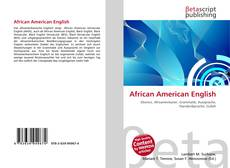Bookcover of African American English