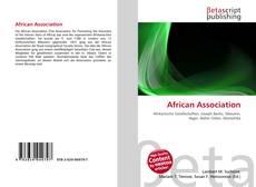 Обложка African Association