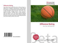 Capa do livro de Offensive Rating
