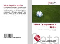 African Championship of Nations kitap kapağı