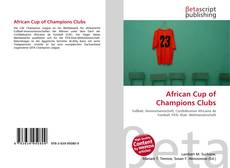 African Cup of Champions Clubs的封面