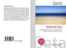 Bookcover of Roland de Vaux