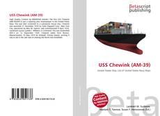 Buchcover von USS Chewink (AM-39)