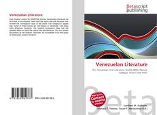 Bookcover of Venezuelan Literature