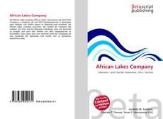 Borítókép a  African Lakes Company - hoz