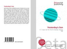 Bookcover of Yesterday's Son